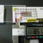 Точные измерения с использованием маяка ЗИ-3Д и электронного штангенциркуля