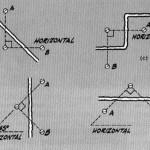 Линии на стене для наблюдения за трещиной
